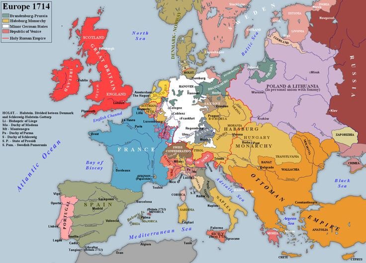 Cartina Europa 700.Le Guerre Del Settecento Platone 2 0 Storia Moderna E Contemporanea