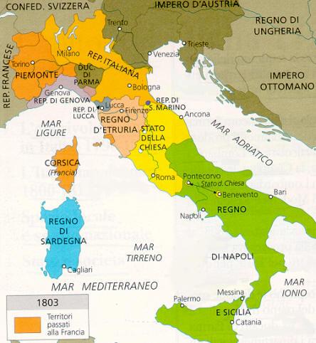 Cartina Italia 1810.Napoleone Platone 2 0 Storia Moderna E Contemporanea