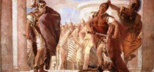 L'ira di Achille contro Agamennone